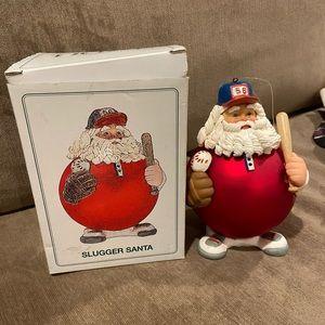 Department 56 Slugger Santa Ornament